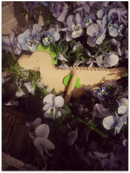 guiro in bloemen