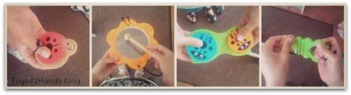instrumenten Collage