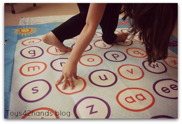 ervaring met de letterspelmat