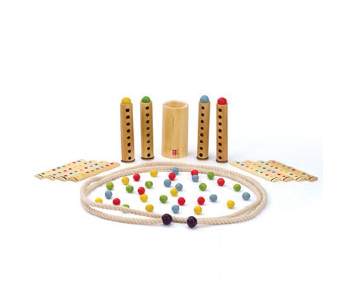 Behendigheidsspel rapido van bamboe in de Toys42hands blog