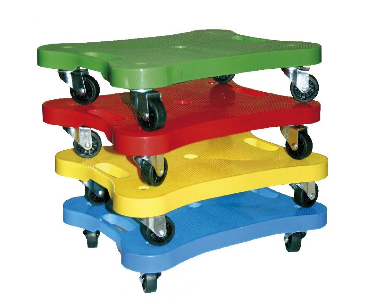 rolplank in vier verschillende kleuren te bestellen bij Toys42hands