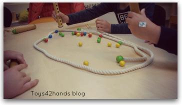 behendigheidsspel rapido in de kleuterklas getest voor de Toys42hands blog